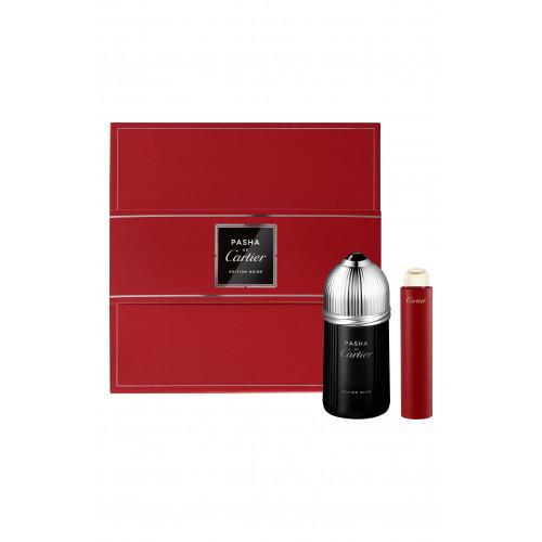 Cartier Pasha de Cartier Edition Noire Set 100ml eau de toilette spray + 15 ml Travelspray