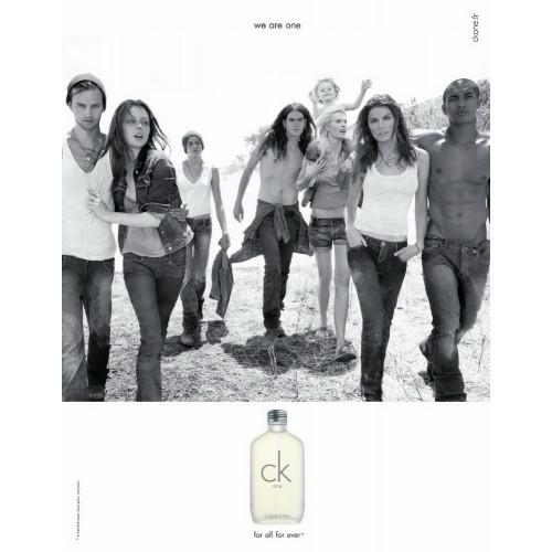 Calvin Klein CK One Set 200ml eau de toilette spray + 200ml Bodylotion