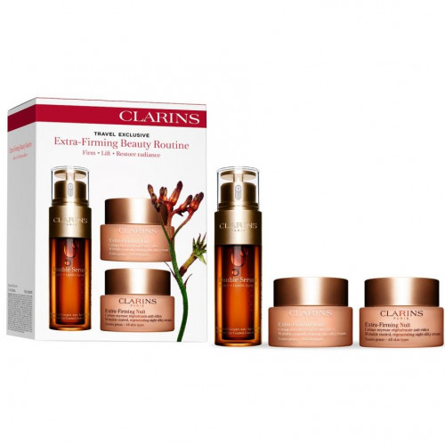 Clarins Firming Collection Set Double Serum 50ml + Extra-Firming Jour All Skin Types 50ml + Extra-Firming Nuit All Skin Types 50ml
