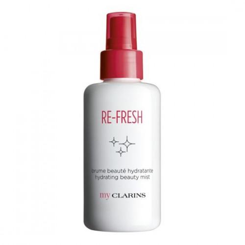 Clarins RE-FRESH Hydrating Beauty Mist 100ml Gezichtsspray