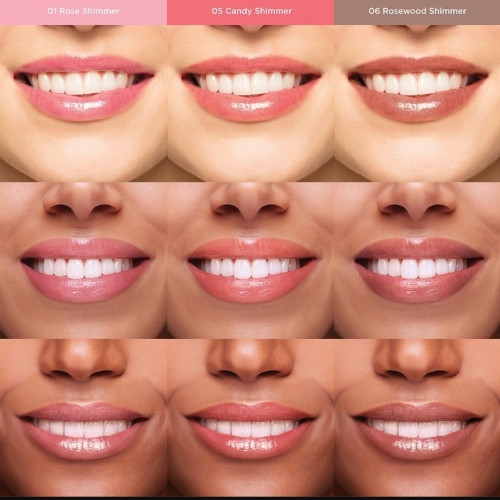 Clarins Natural Lip Perfector Duo Set Nr. 01 - Rose Shimmer & Nr. 02 - Apricot Shimmer