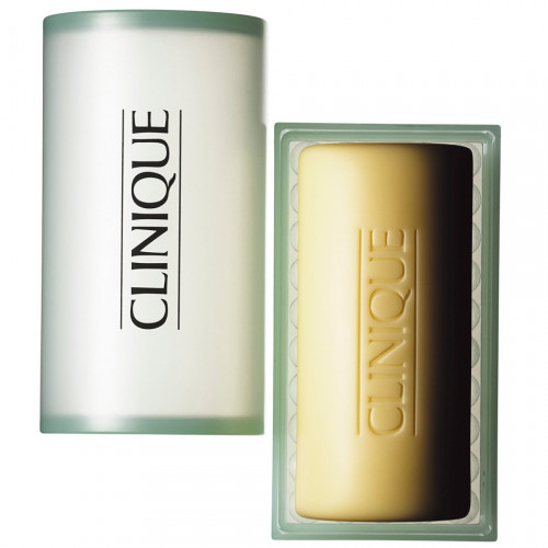 Clinique Facial Soap for Oily Skin with Dish 100g Gezichtszeep Huidtype: 3,4  (Gecombineerde/vette huid)
