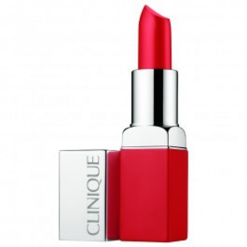 Clinique Pop Matte Lip Colour and Primer Lipstick 03 Ruby Pop 3.9g