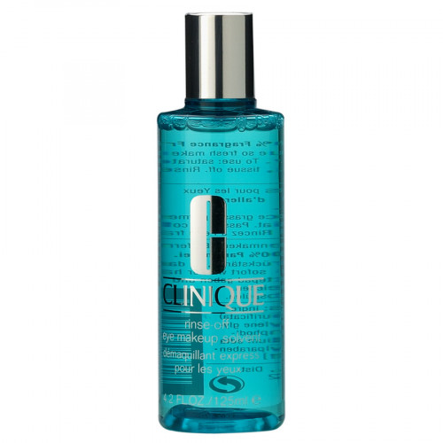 Clinique Rinse Off Eye Makeup Solvent 125ml Make-up remover (1,2,3,4)