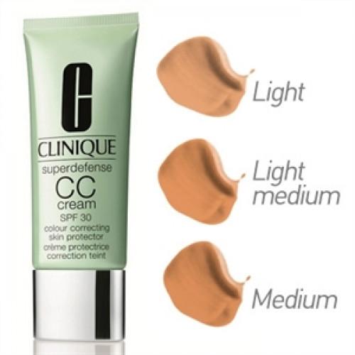 Clinique Superdefense Colour Correcting Skin Protector CC Cream SPF30 40ml - Medium Deep