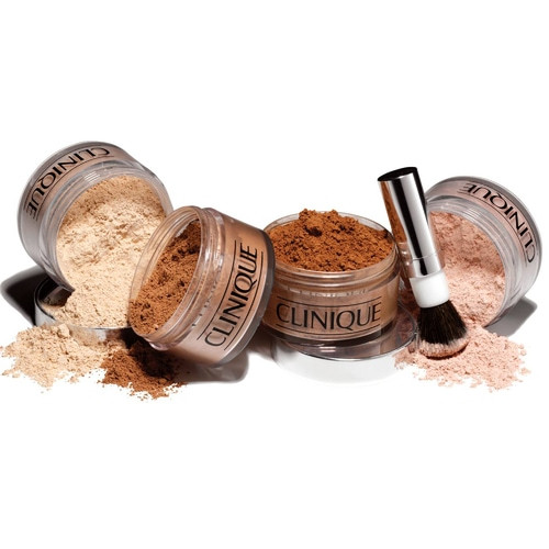 Clinique Blended Face Powder and Brush - Transparency 20