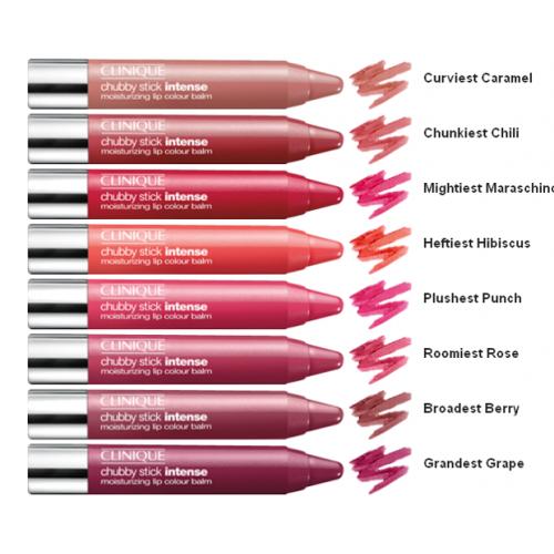 Clinique Chubby Stick Intense Moisturizing Lip Colour Balm 01 - Curviest Caramel
