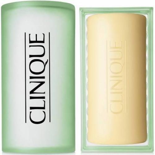 Clinique Facial Soap with Dish - Mild 100g Gezichtszeep Huidtype 2 (Droge/gemengde huid)