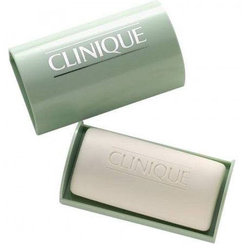Clinique Facial Soap with Dish - Extra Mild 100g Gezichtszeep Type 1 (Droge/gevoelige huid)