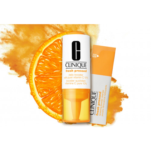 Clinique Fresh Pressed Daily Booster with Pure Vitamin C 10% 4x 8,5ml