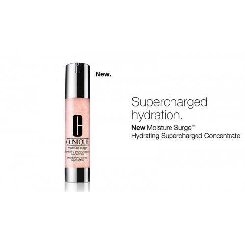 Clinique Moisture Surge Hydrating Supercharged Concentrate 48ml Moisturizer Duo 2x 48ml