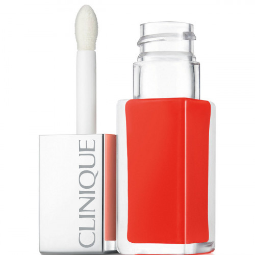 Clinique Pop Lip Colour Lacquer + Primer Lipgloss 03 Happy Pop 6 ml