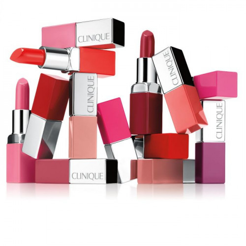 Clinique Pop Lip Colour + Primer Lipstick 14 Plum Pop 3.9g