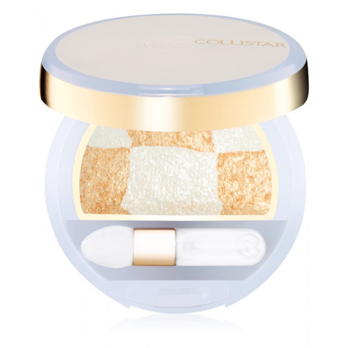 Collistar Double Effect Eye Shadow Wet & Dry nr. 23 Gold - White