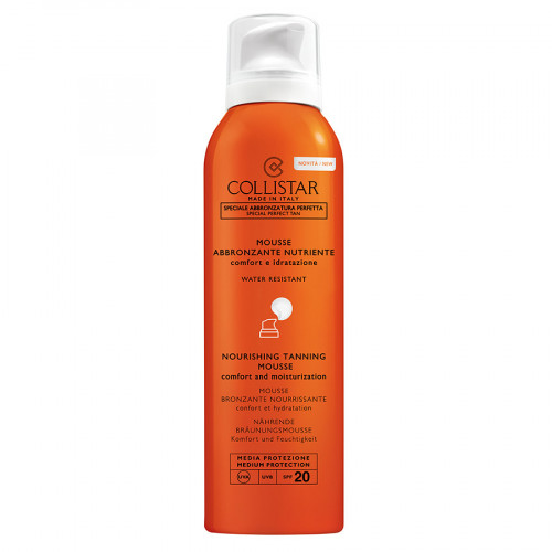 Collistar Nourishing Tanning Mousse SPF20 200ml