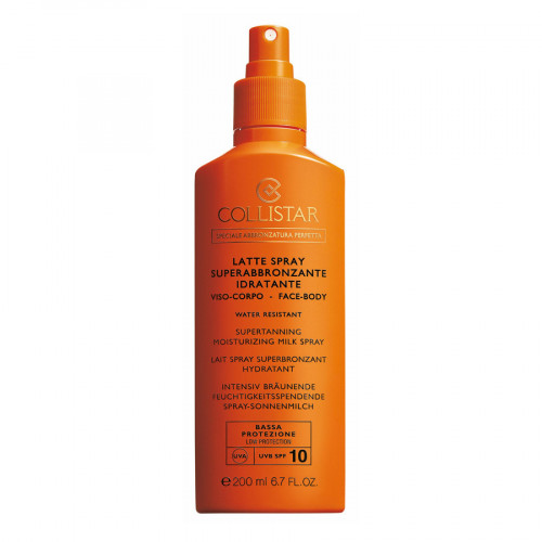 Collistar SPF10 Super Tanning Moisturising Milk Spray 200ml