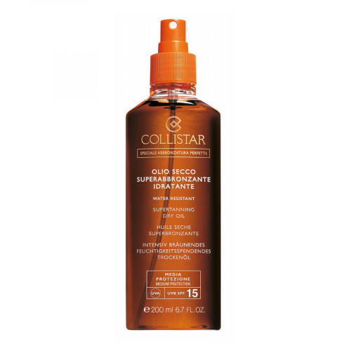 Collistar SPF15 Supertan Dry Oil 200ml