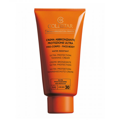 Collistar SPF30 Ultra Protection Tanning Cream 150ml