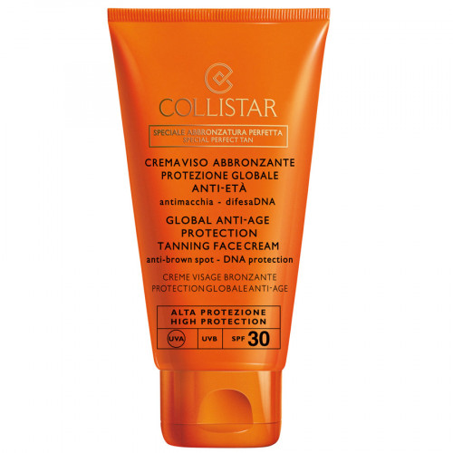 Collistar SPF30 Global Anti-Age Protection Tanning Face Cream 50ml