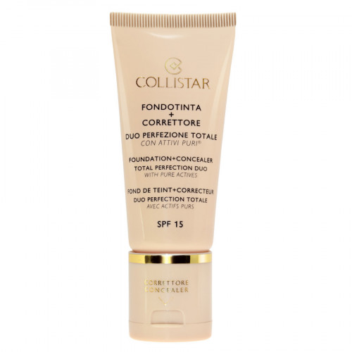 Collistar Total Perfection Duo Foundation + Concealer 4 - Amber