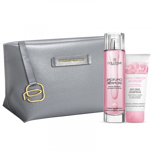 Collistar Benessere Dell'Amore Set 100ml Bodyspray +  Crema Carezza 50ml Bodycrème + Tas