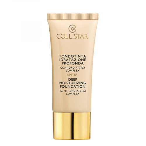 Collistar Deep Moisturizing Foundation With Idro-Attiva Complex  SPF15 30ml Nr. 3 Nudo