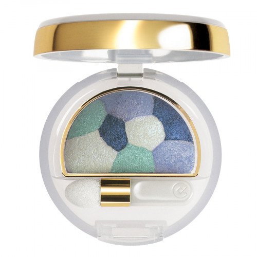 Collistar Double Effect Eye Shadow Wet & Dry nr. 17 - Sky Blue Patchwork