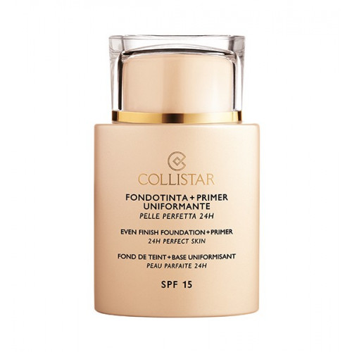 Collistar Even Finish Foundation + Primer 24H perfect skin - SPF15  n. 5 amber 35ml