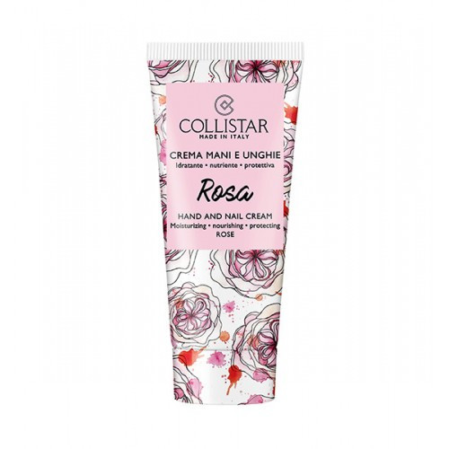 Collistar Hand and Nail Cream Rose 50ml