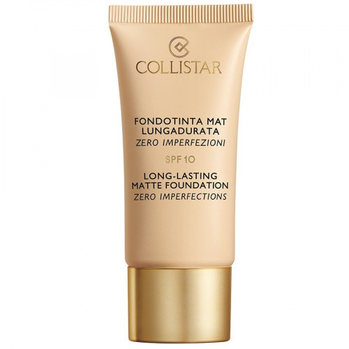 Collistar Long Lasting Matte Foundation Zero Imperfections SPF10 30ml 3 Nude