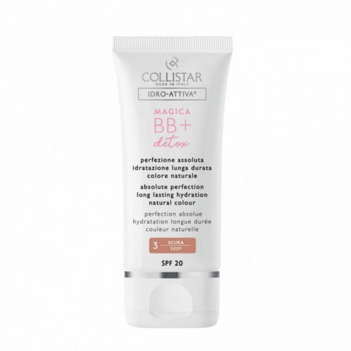 Collistar Magica BB+ Detox SPF20 BB Cream 50ml - 3 Deep