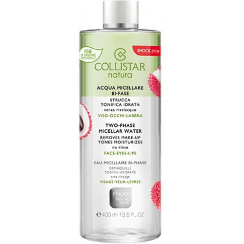 Collistar Natura Two-Phase Micellar Water 400ml Gezichtsreiniging