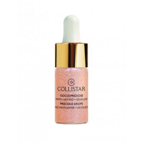 Collistar Precious Drops Face Highlighter Decollete 02 Coral Pearl