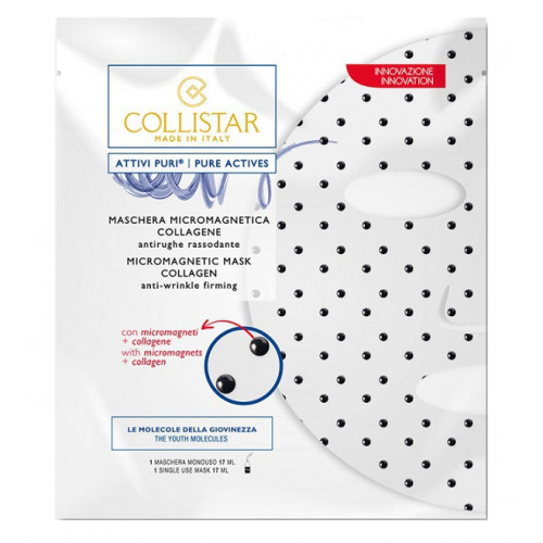 Collistar Pure Actives Micromagnetic Mask Collagen Anti-Wrinkle Firming 17ml Gezichtsmasker