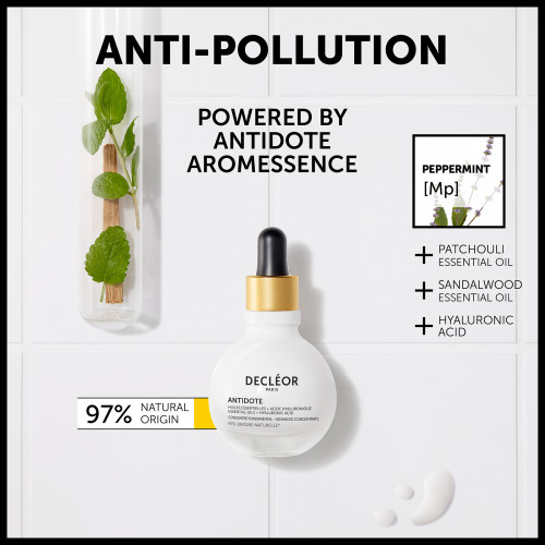 Décleor Antidote Serum Essential Oils + Hyaluronic Acid 50ml