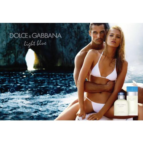 Dolce & Gabbana Light Blue Woman Set 100ml Eau de Toilette Spray + 100ml Body Cream