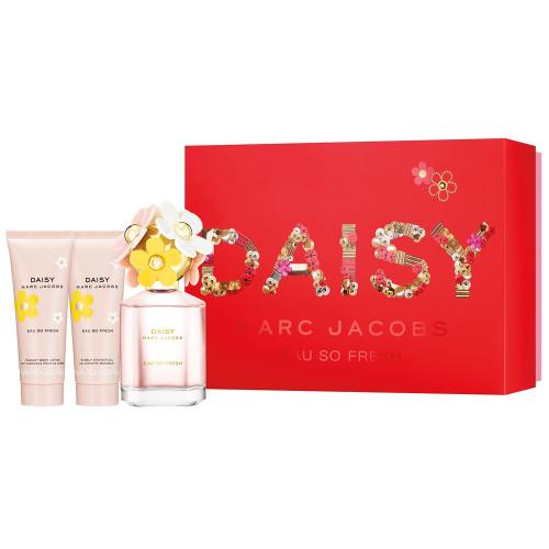 Marc Jacobs Daisy Eau So Fresh Set 75ml edt + 75ml Bodylotion + 75ml showergel
