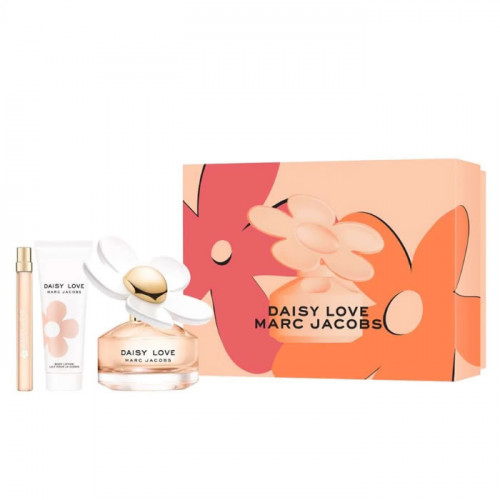 Marc Jacobs Daisy Love Set 100ml eau de toilette spray + 75ml Bodylotion + 10ml edt