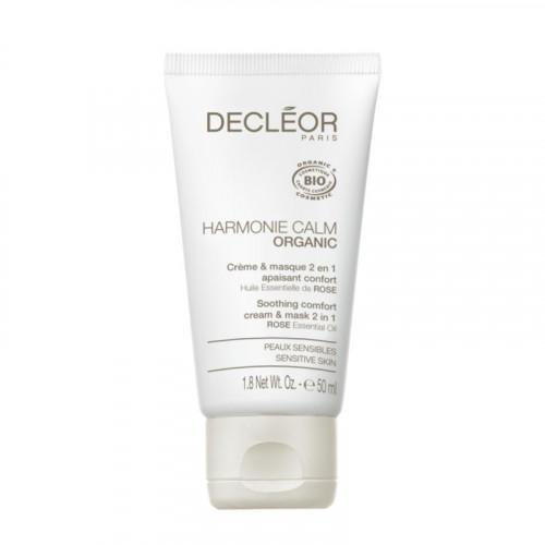Decleor Harmonie Calm Organic Soothing Comfort Cream & Mask 2 in 1 50ml