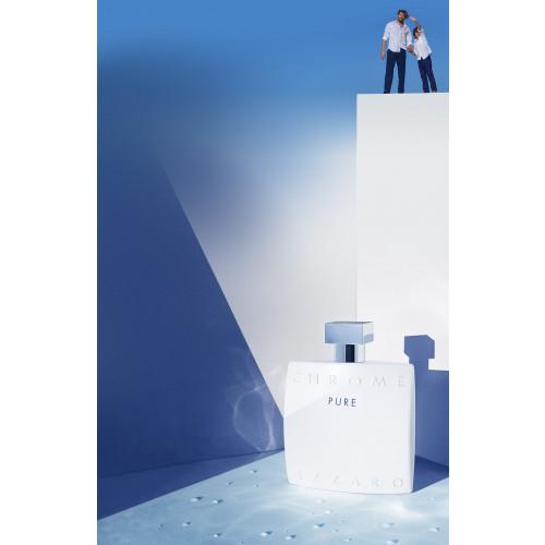 Azzaro Chrome Pure 50ml eau de toilette spray