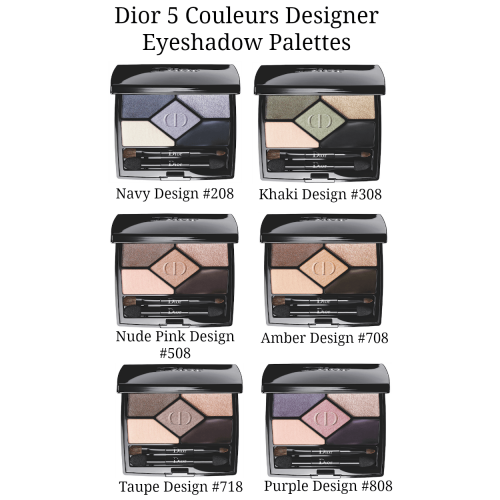 Dior 5 Couleurs Designer Eyeshadow No. 708 Amber