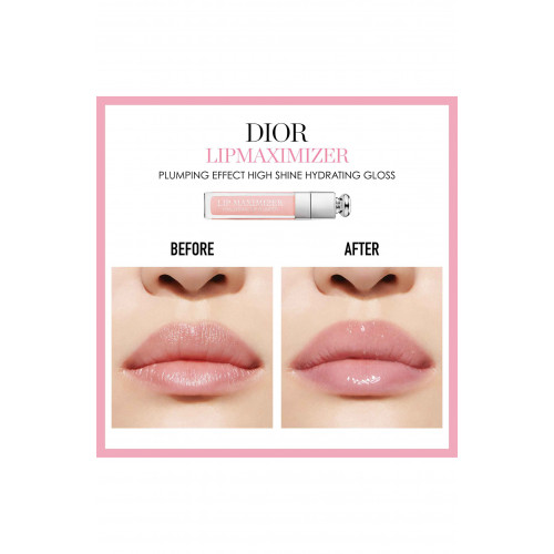 Dior Addict Back Stage Pro set Lip Maximizer Hyaluronic Lip Plumper 001 Pink 6 ml + Dior Addict Lip Glow 001 Pink