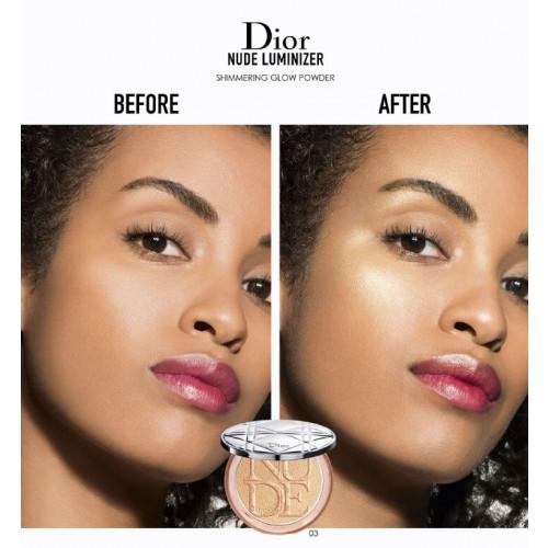 Dior Diorskin Nude Luminizer Shimmering Glow Powder 04 Bronze Glow 6 gr