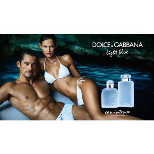 Dolce & Gabbana Light Blue Pour Homme Eau Intense 4ml eau de parfum miniatuur
