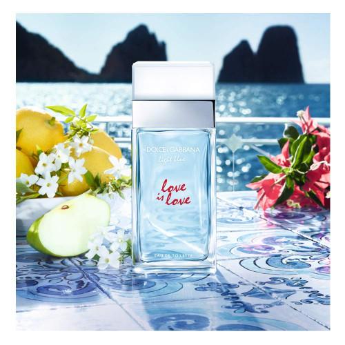 Dolce & Gabbana Light Blue Love Is Love Pour Femme 100ml eau de toilette spray