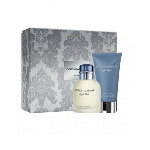 Dolce & Gabbana Light Blue Pour Homme set 75ml edt + 75 ml Aftershave Balm