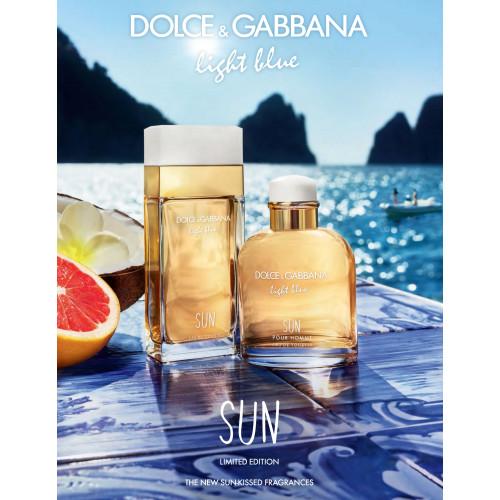 Dolce & Gabbana Light Blue Sun Woman 100ml eau de toilette spray