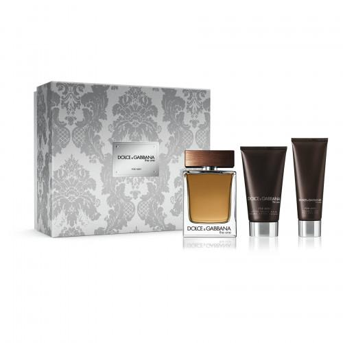 Dolce & Gabbana The One for Men Set 100ml eau de toilette spray + 50ml Showergel + 75ml Aftershave Balsem