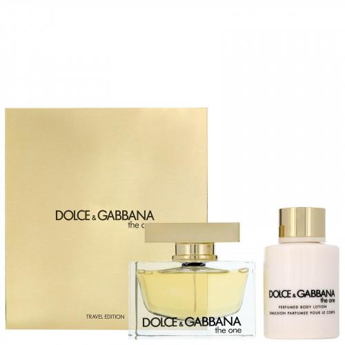 Dolce & Gabbana The One Set 75ml eau de parfum spray + 100ml Bodylotion