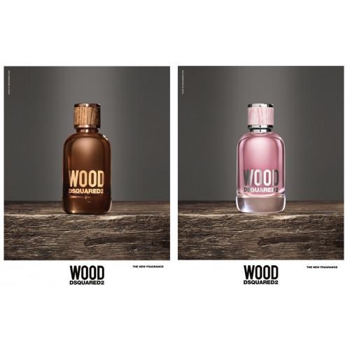 Dsquared² Wood pour Femme 50ml eau de toilette spray
